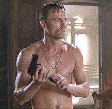 Daniel w/gun, Tomb Raider