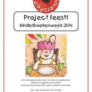 * Project: Feest! Een vrolijk project van 3 weken  rondom 'Feest!' met reken- en taalactiviteiten, spellessen en suggesties voor de hoeken aan de hand van het boek 'Rikki is jarig' van Guido van Genechten.