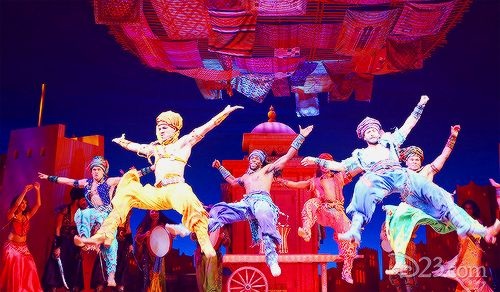 Aladdin on Broadway takes over New York's New Amsterdam Theatre Disney's all-new musical Aladdin, adapted from centuries-old Arabian folktales including One Thousand and One Nights, is only a month away from opening, and the New Amsterdam Theatre is transforming to welcome Prince Ali Ababwa. Located in the heart of Times Square, the historic New Amsterdam Theatre is one of New York City's most stunning Broadway theaters. It was built in 1903 and was once home to the legendary Ziegfeld…