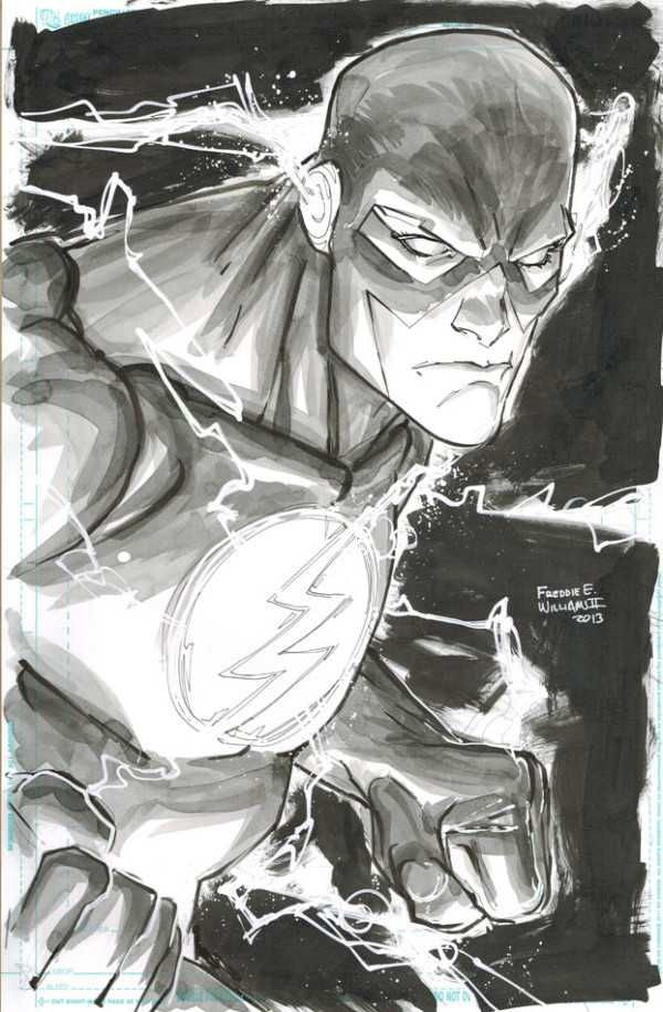 The Flash by Freddie E. Williams II