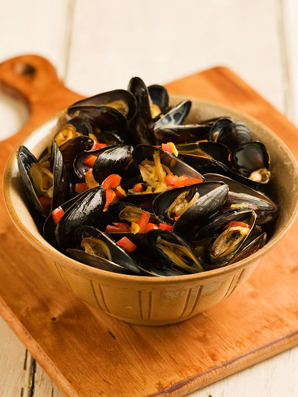 Steamed Mussels 10 Ways! via @Chef Michael Smith