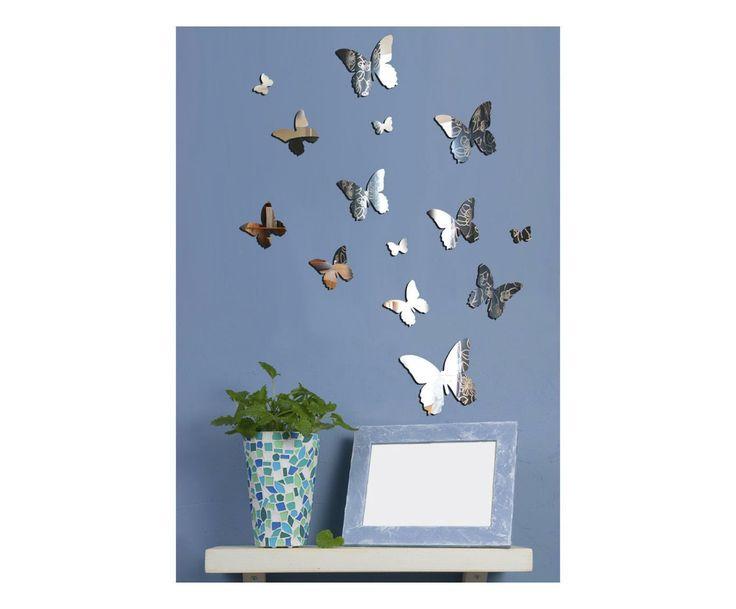 Set di specchi da parete in plexiglass - 14 pezzi | Dalani Home & Living