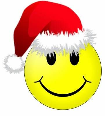 Smiley Christmas Facebook Symbols, Chat Emoticons Icons