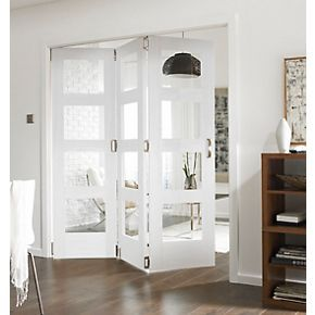 Jeld-Wen 4-Light Internal Room Divider 3-Door White 1939 x 2044mm