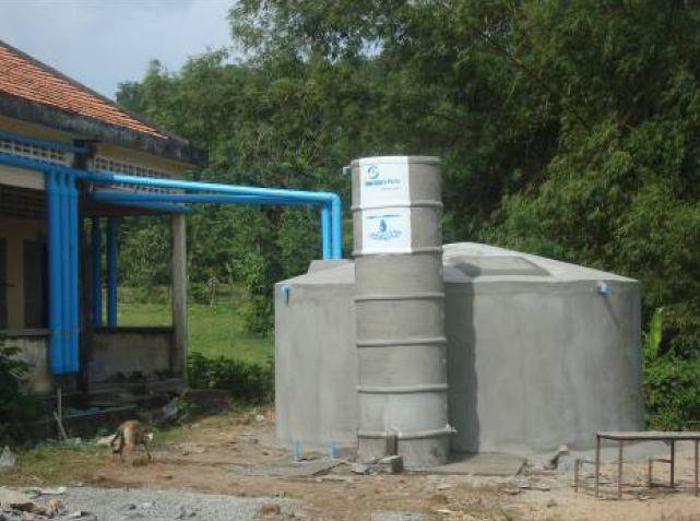 Rwc ferro cement tank in takeo province ferrocement for Ferrocement house plans