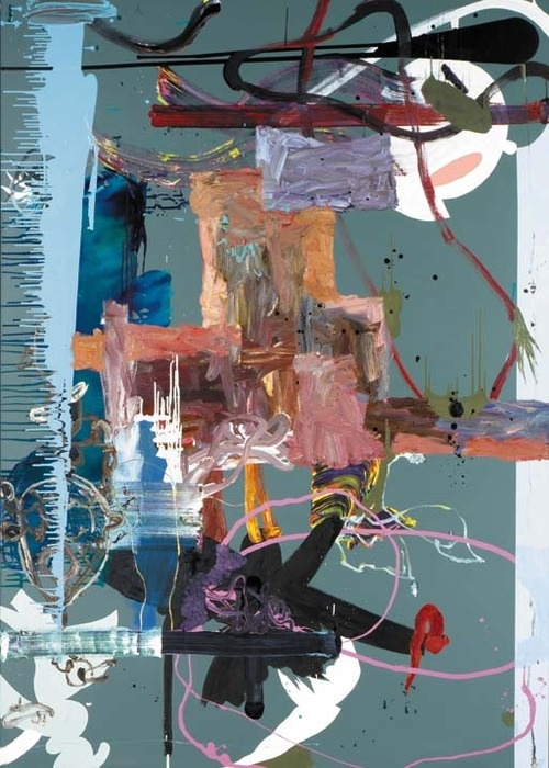 Fiona Rae - Untitled (Green)