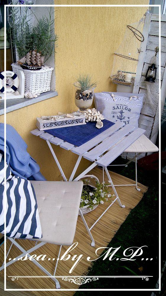 Styl Marynistyczne W Mieszkaniu / Marine Style In Home