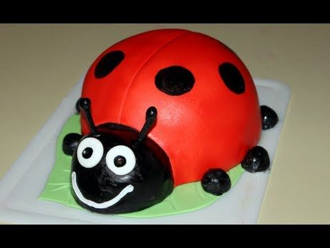 Looking for a cute cake? watch this video to create your very on Lady Bug cake! just follow my quick and easy steps. this cake is perfect for the early birth...