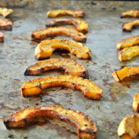 delicata squash | oven fries
