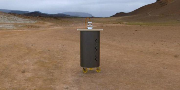 Chilenos inventan una máquina que transforma el aire en agua potable