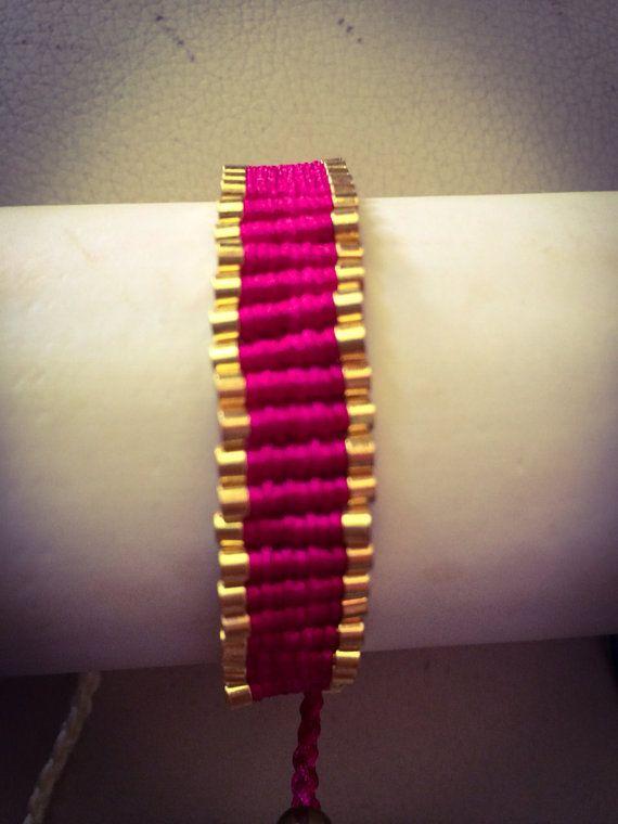 "Handmade Bracelet, Jewelry, Women, Fashion, Style, ""Gold Line Vol.2"" on Etsy, 12,00€"