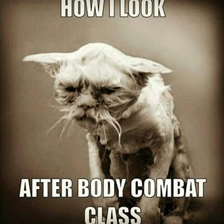 Because BodyCombat has left you completely and utterly destroyed. | 21 Things Everyone Who Does BodyCombat Will Understand