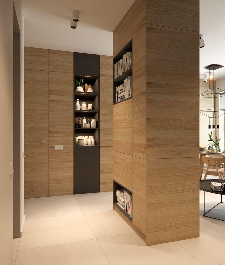 wooden-dividing-pillar-small-apartment-design.jpg 1,200×1,412 pixels