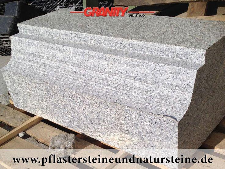 """Firma B&M GRANITY – diverse Erzeugnisse aus polnischem Granit """"Salz und Pfeffer"""" (Schlesien)…Dieses Material ist frostbeständig und hat ein sehr breites Anwendungsspektrum. http://www.pflastersteineundnatursteine.de/fotogalerie/unterschiedliche-naturstein-produkte/"""