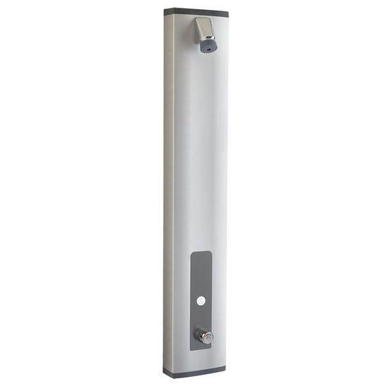 Panneau de douche robinet temporisé et mitigeur thermostatique
