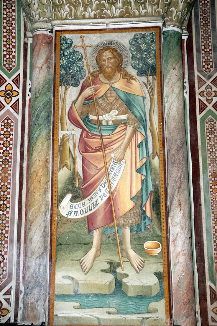 Cenni di francesco, san giovanni battista della cappella della croce di giorno, 1410.JPG