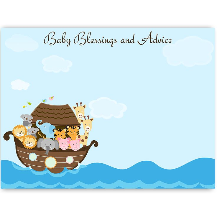 Have Guests Give Baby Advice And Blessings At Your Unisex Baby Shower With  This Trendy Advice