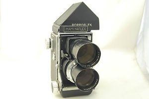 Mamiyaflex Body 180mm F4 5 Lens Porroflex Prism 6x6 TLR Fully Tested UK   eBay