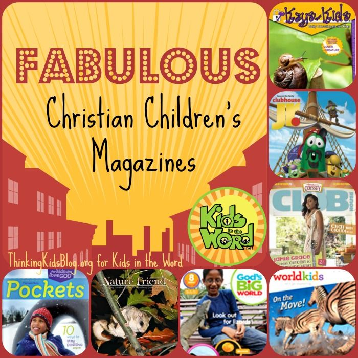 Do Your Kids Love Magazines? Take a look at some great Christian mags for kids ages 3-12. {And a giveaway & freebie}