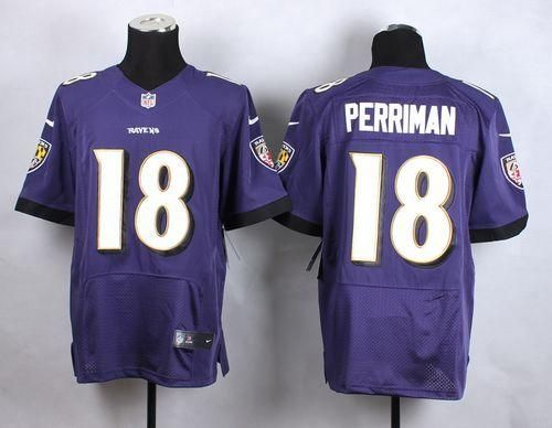 nike ravens breshad perriman purple team color mens stitched nfl new elite jersey and nfl jersey 18