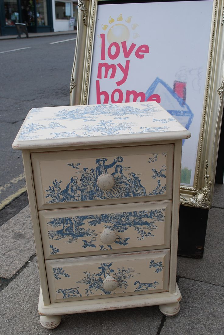 40 best images about Decoupage ideas on Pinterest  Fabric covered