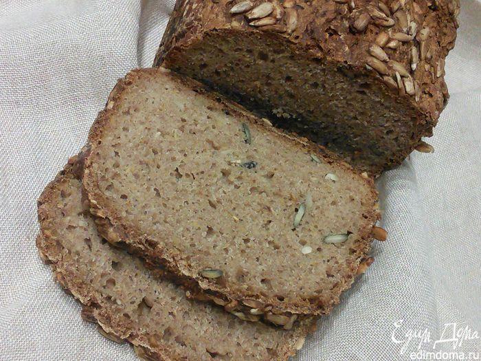 Цельнозёрновой спельтовый хлеб на кефире | Кулинарные рецепты от «Едим дома!»