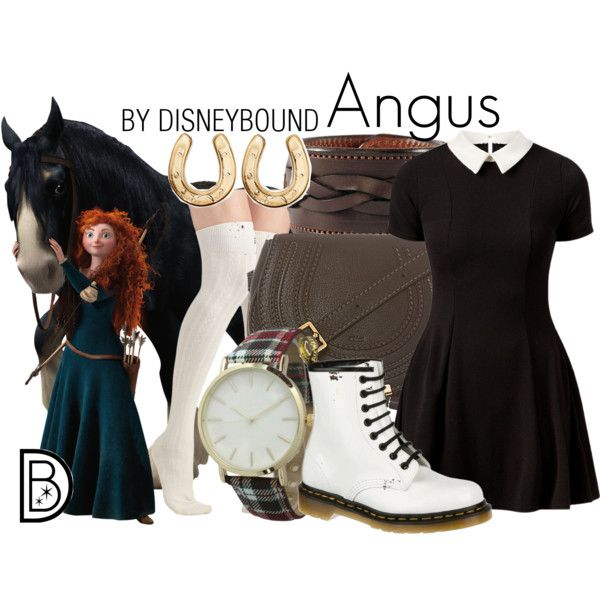 Angus by leslieakay on Polyvore featuring Cameo Rose, Chloé, Rebecca Ray Designs, Olivia Pratt and Dr. Martens