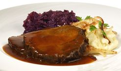 German Food Guide & Directory / Sauerbraten { this is more like Mom's }