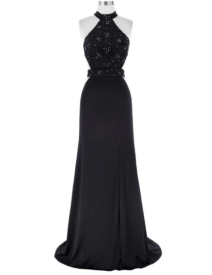 Beaded Prom Dress,Chiffon Prom Dress,Backless Prom Dresses,Long Evening