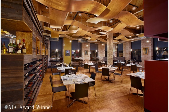 Franco restaurant in st louis interior by space for P o style architecture