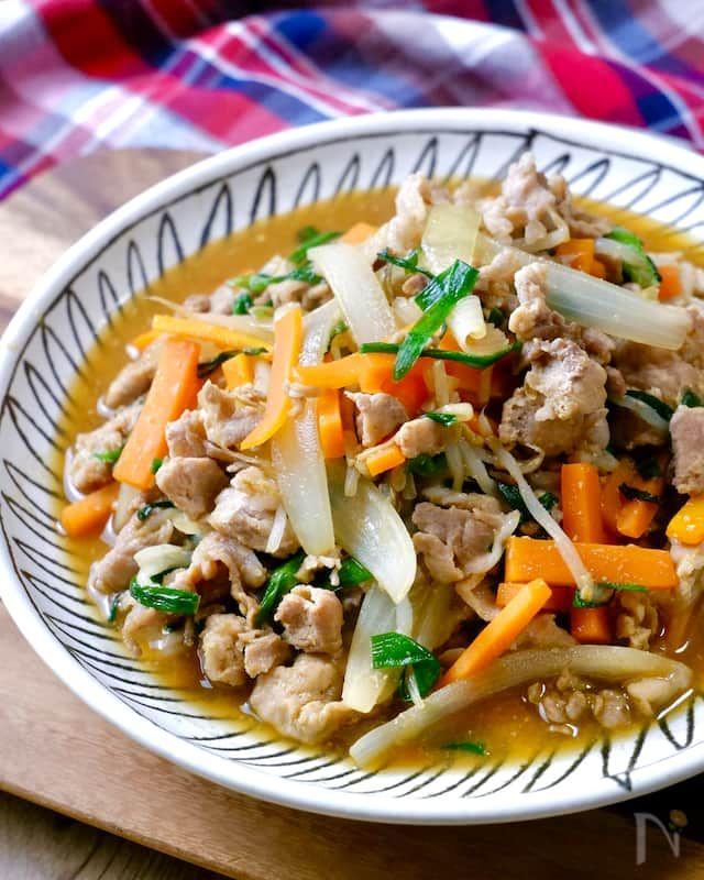男子が喜ぶ スタミナ肉野菜炒め 焼肉のタレ 味噌の最強タレ