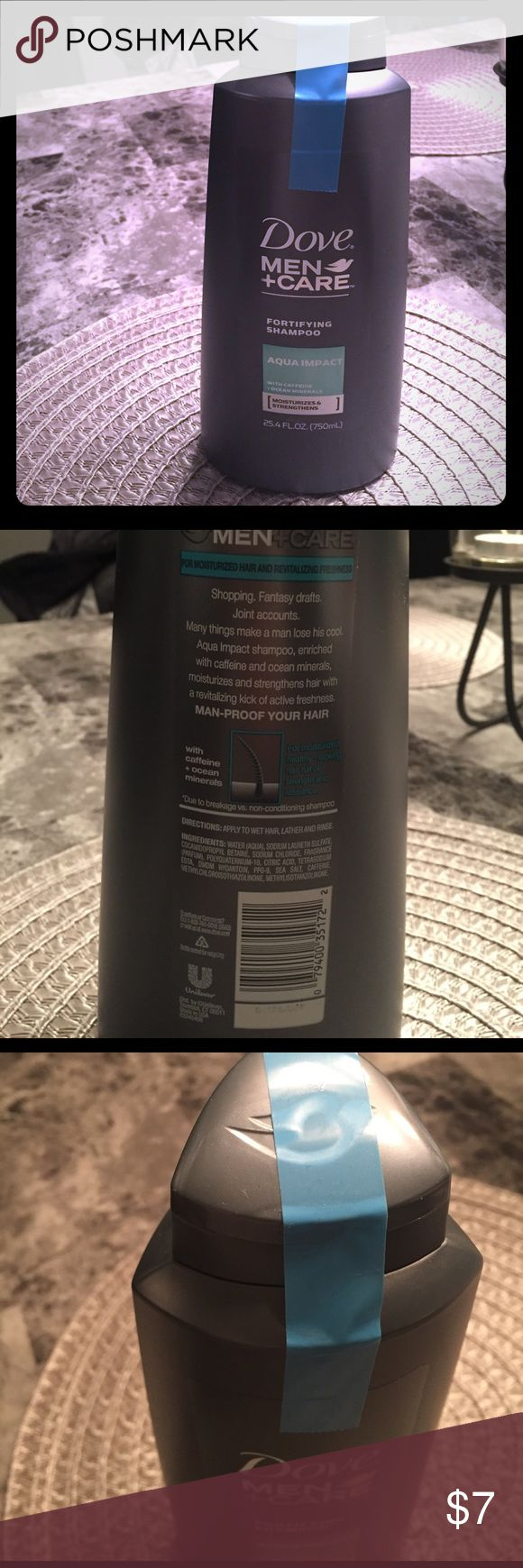 NEVER OPENED Dove men's shampoo Men's dove shampoo - new! Make an offer if interested Other