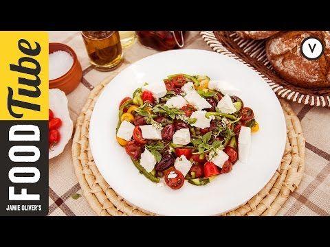 How To Make Greek Salad | Akis Petretzikis - YouTube