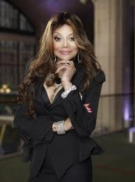 Latoya Jackson....I think she is so sweet ....a gentle soul ....she's been through a lot ....fuck what people think I like her