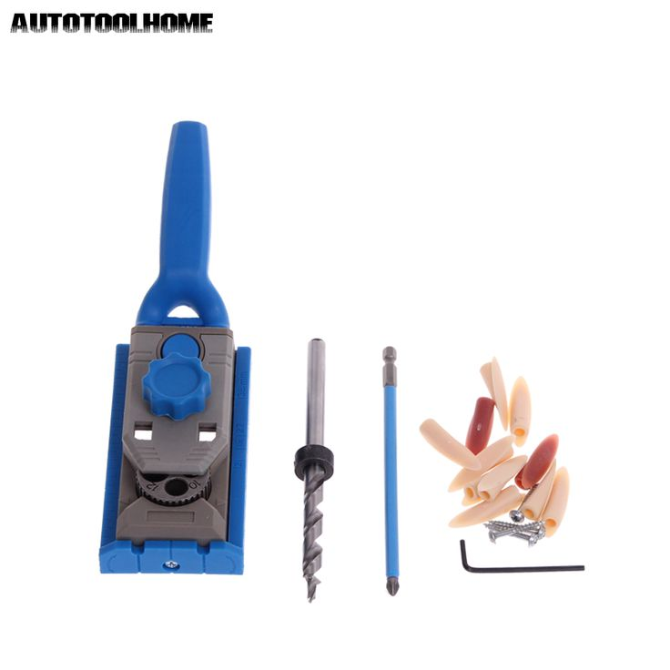 AUTOTOOLHOME Pocket Hole Jig System PH2 Screwdriver Bit 9.5mm Step Drill Guide for Kreg Wood Doweling Joinery Tools Accessories  EUR 19.01  Meer informatie  http://ift.tt/2ynaqza #aliexpress