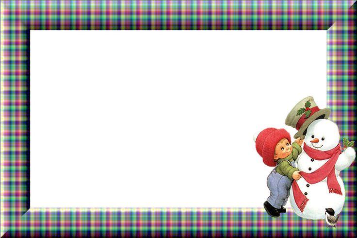 268 besten borders frames christmas winter bilder auf - Weihnachtsfenster vorlagen gratis ...