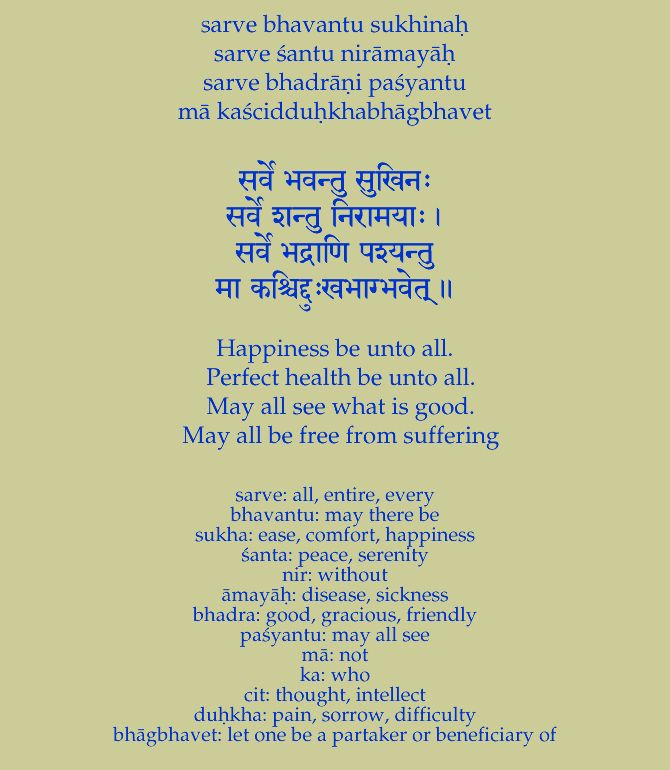 May all be free from suffering | Art Heart in 2019 | Hindu mantras
