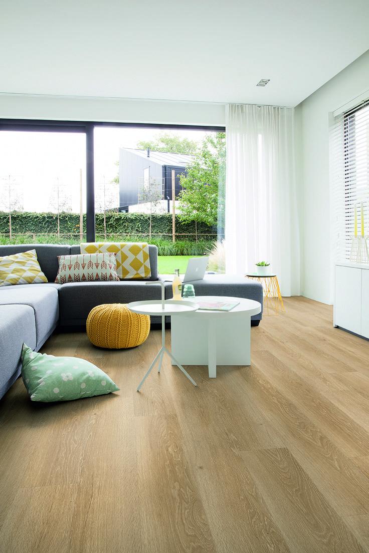 Quick-Step 'Livyn' luxury vinyl flooring - Pulse (PUCL40081) Sea breeze oak natural' - www.quick-step.com