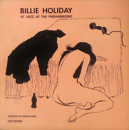 Billie Holiday,album covers