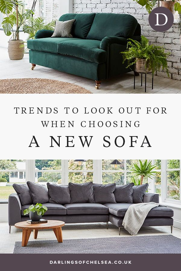 8 Popular Sofa Trends You Should Know About Darlings Of Chelsea In 2020 Corner Sofa Living Room Sofa Decor Sofa Pillow Sets