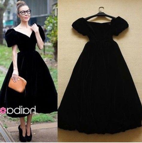 Винтаж черное платье длинные платья женщин vestidos лонго роковой свадебной одежды феста ретро элегантное платье вечернее ну вечеринку 2016