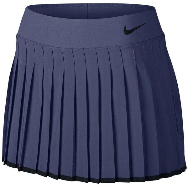 Nike Women's Court Victory 13 Inch Tennis Skort (4815 RSD) ❤ liked on Polyvore featuring activewear, activewear skirts, golf skirts, nike activewear, nike, nike skort and nike sportswear