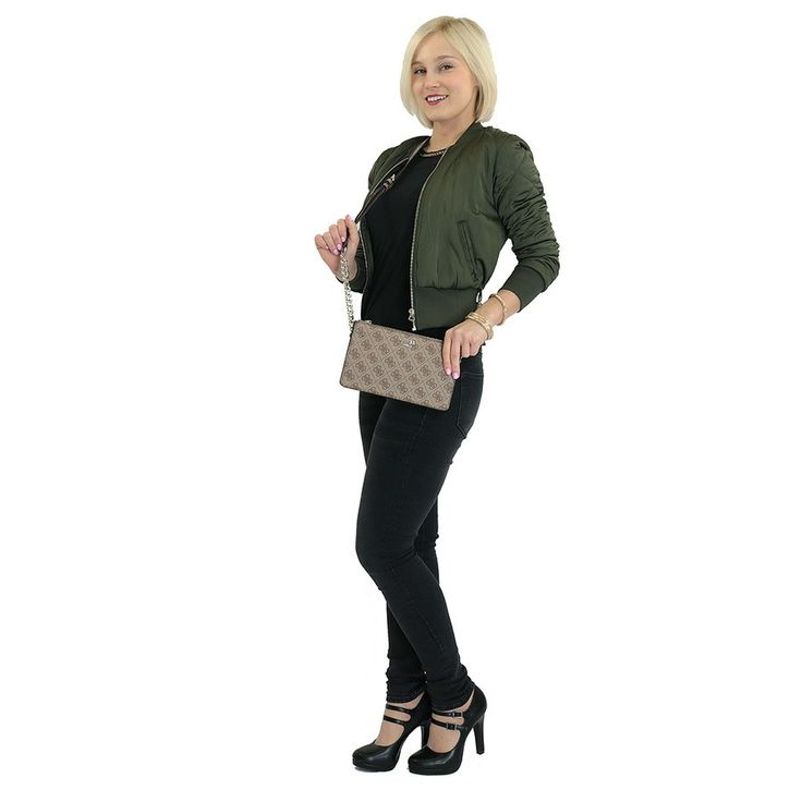 Kabelka HWSG6491700 Guess, hnědá | Delmas.cz - kabelky, peněženky, pánské tašky, cestovní zavazadla