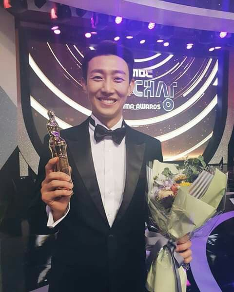 Kang Ki Young Best Supporting Actor - My Secret Terius Drama  MBC