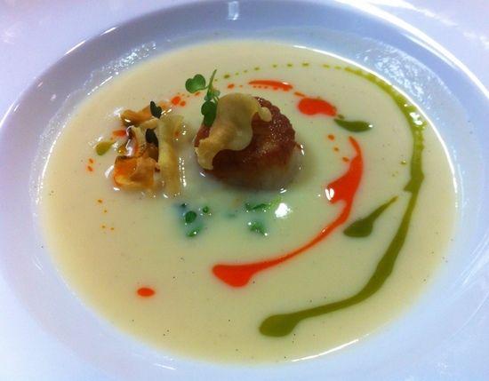 soups with vanilla vanilla soup michael allemeier chef michael parsnip ...