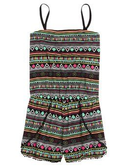 Aztec Romper Swimsuit Cover-Up from justice - Perfect for Thursday's USIR Finalist Pool Party #usir2016