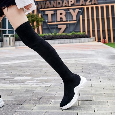 d985b970d40 Chiko Dawn Thigh High Sneaker Boots