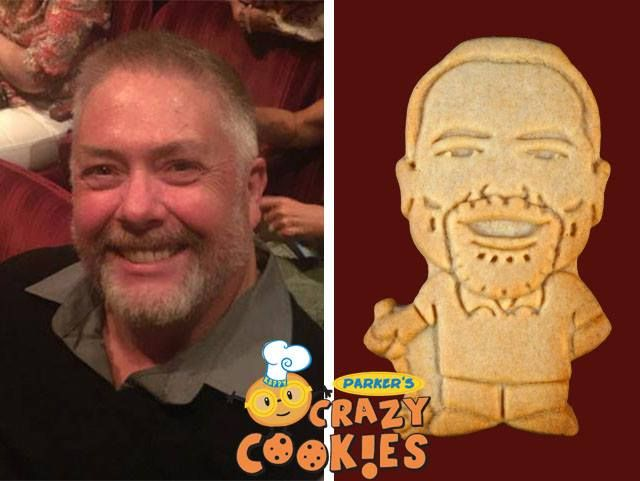 Create a fun and creative atmosphere at your next corporate retreat with custom cookies of the top brass by Parker's Crazy Cookies. Watch the smiles multiply!!