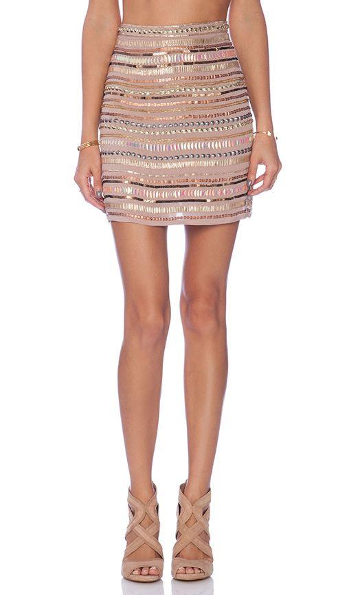 Tularosa x REVOLVE Crystal Skirt in Blush | REVOLVE