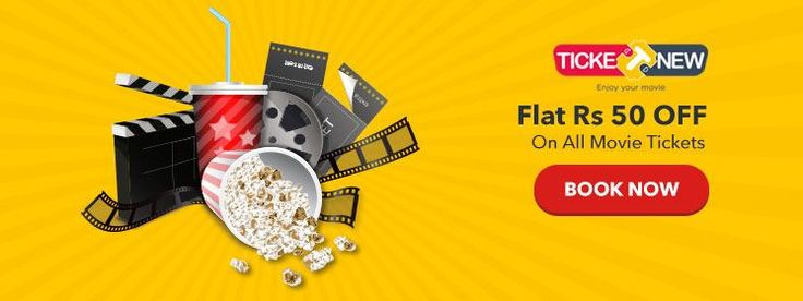 ticketnew coupons TicketNew Offers Nov 2017. Use Promo Code to Get Flat Rs 50 Off on movie ticket booking..